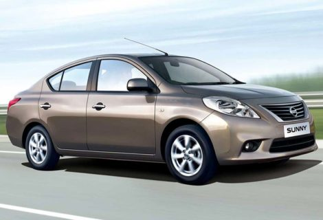 Nissan Sunny Car rental in Mysore