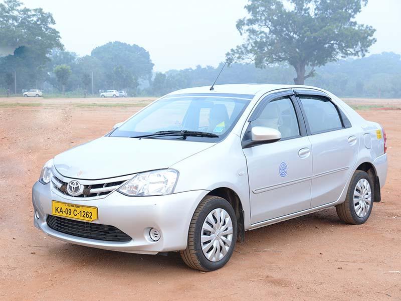 Toyota Eitos Liva Car rental in Mysore