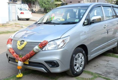 Toyota Innova Car rental in Mysore