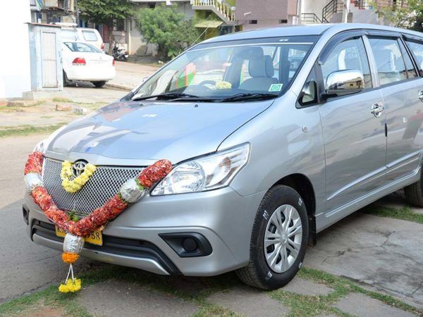 Toyota Innova Car rental in Mysore
