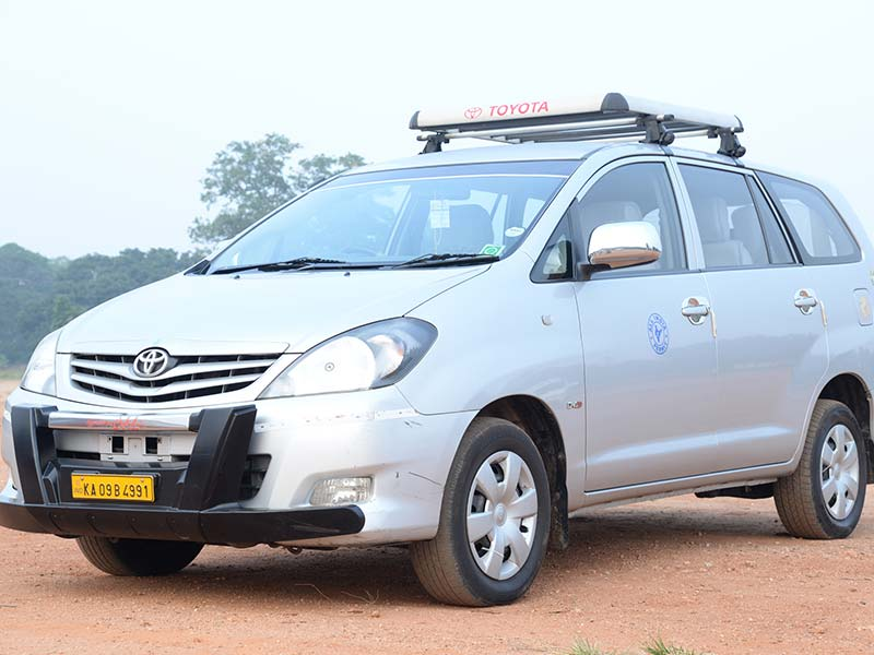 Toyota Eitos Car rental in Mysore